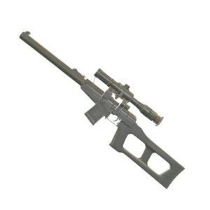 vss pso-1 bullets rifle obj