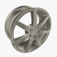 "Mercedes-Benz 7-Spoke 18"" Rim"