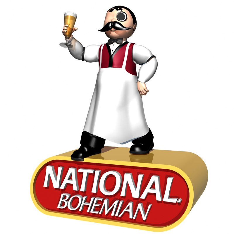 beer character 3d obj