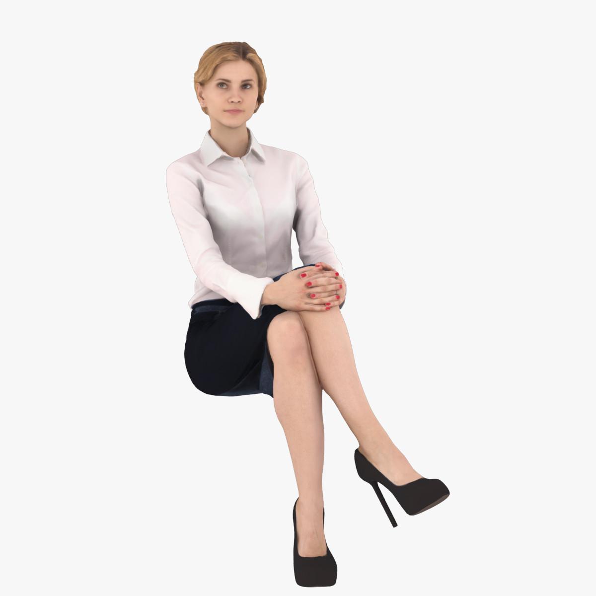 woman business 3d