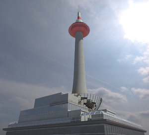 kyoto tower 3ds