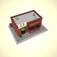 Low-Poly Bar