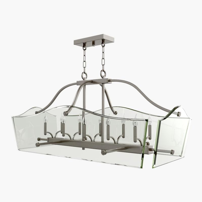 hinkley lighting 3005pl 3d model