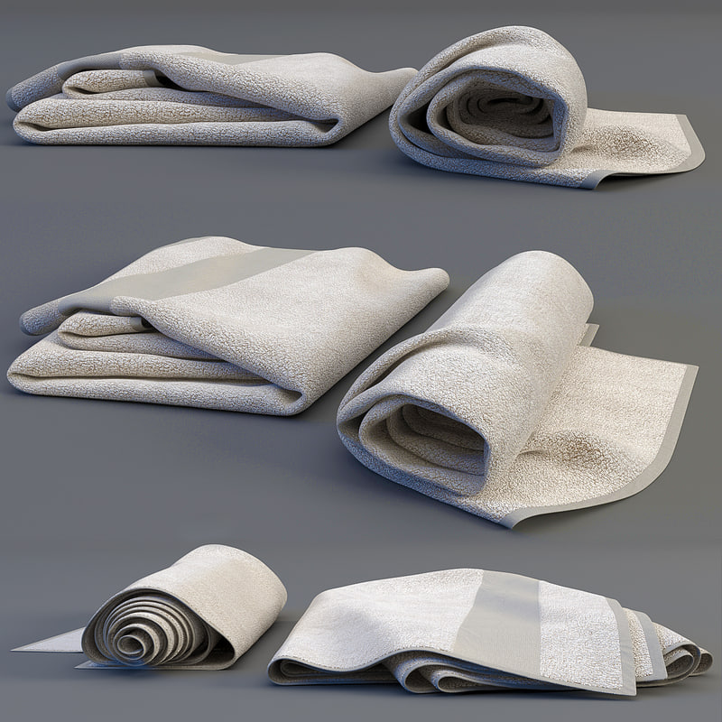 3ds max towel