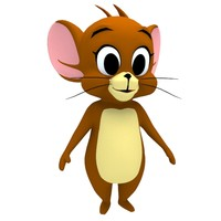 jerry character 3d 3ds