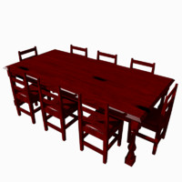 8x4 Dining Table