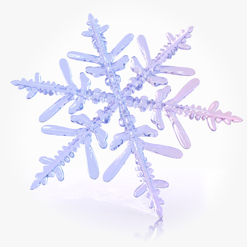 3ds max snow flake
