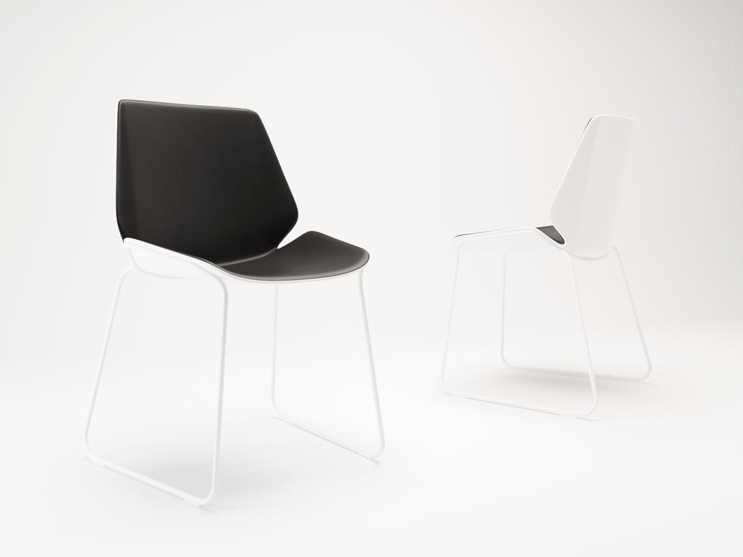corona poliform chairs fold 3d max