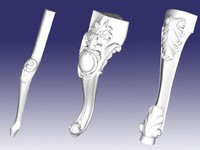 3d model furniture legs