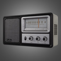 Vintage Radio - Game Ready