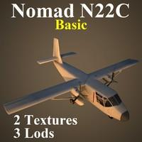gaf n22c basic 3d max