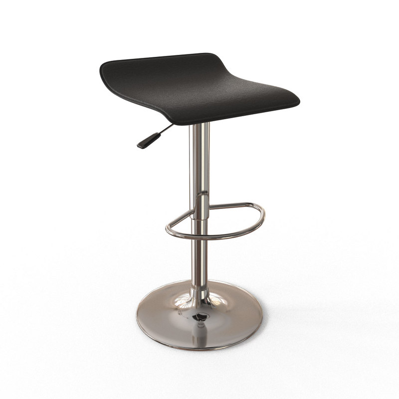 chrome bar stool max