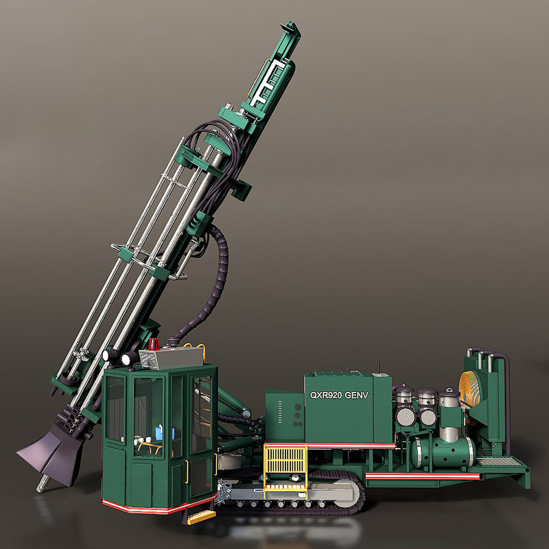 rotary blasthole drill