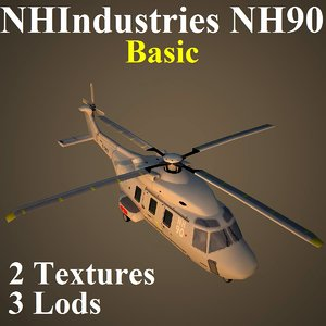 ma nhindustries nh90 basic helicopter
