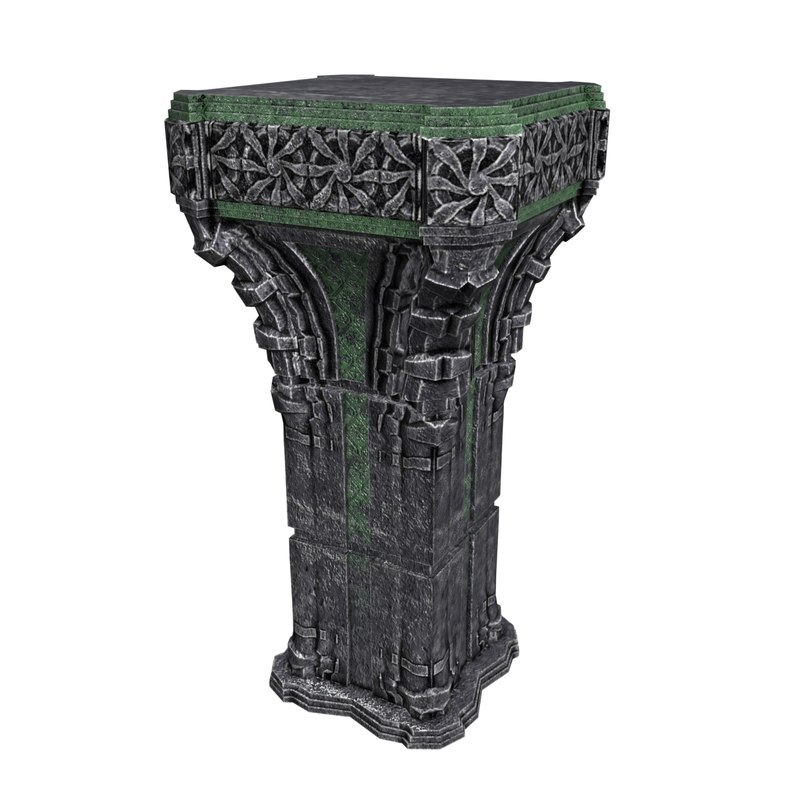max pedestal architecture