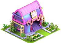 cartoon home obj