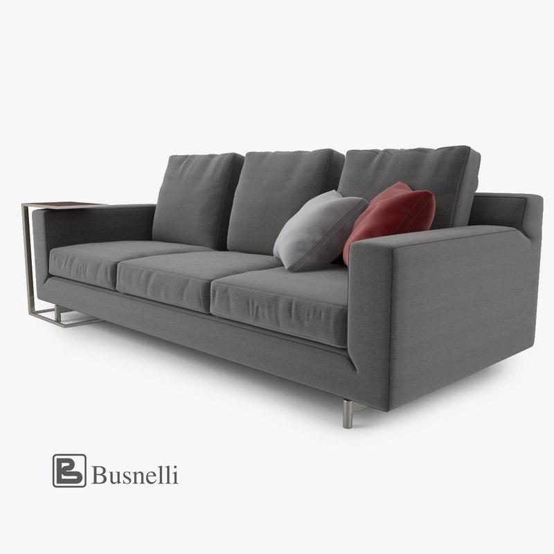 3d busnelli taylor sofa 3 model