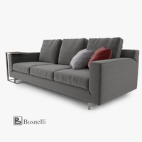 3d busnelli taylor sofa 3 model