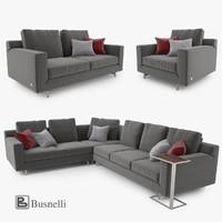 Busnelli Taylor Sofa Set
