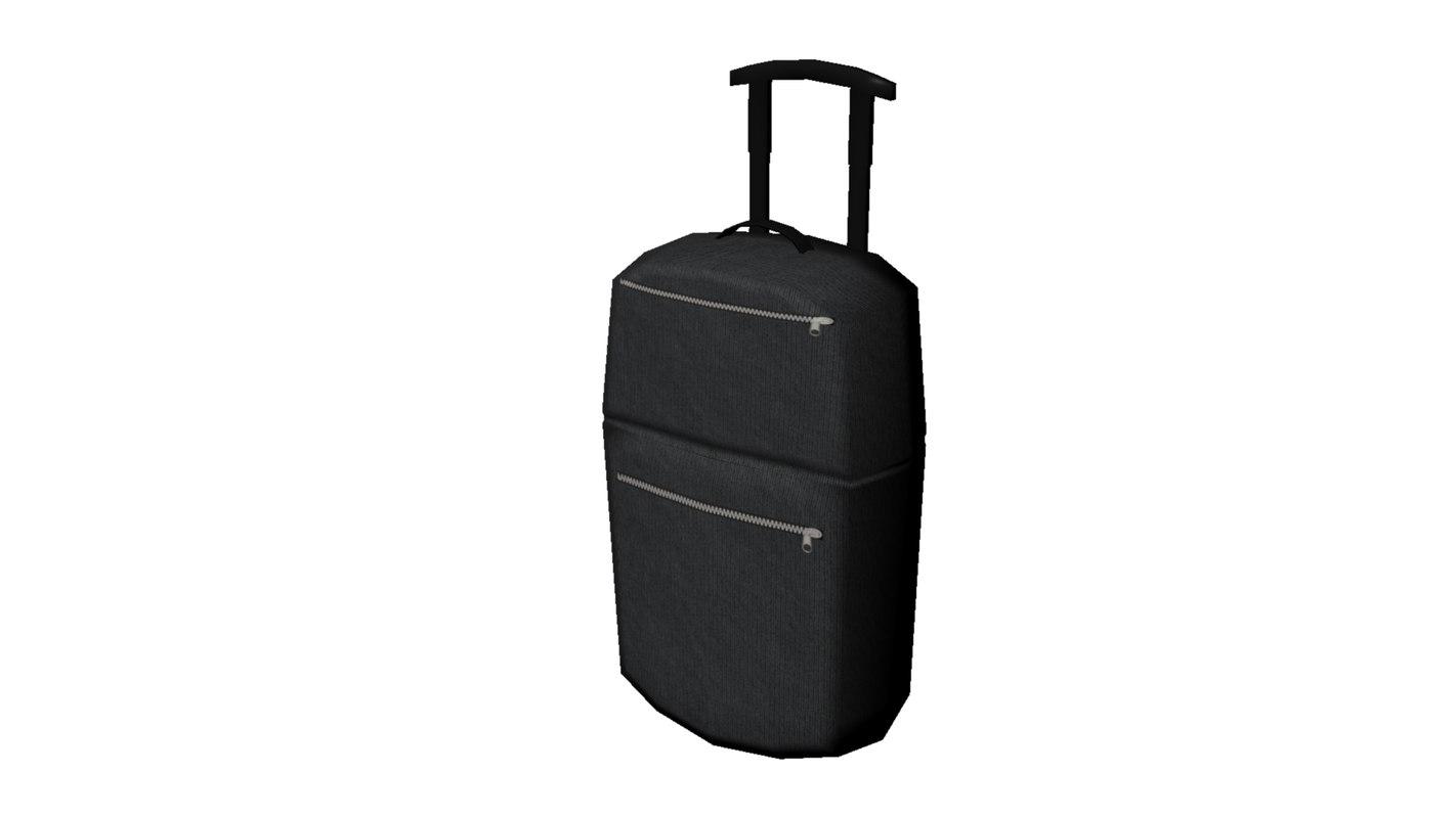 luggage case fbx