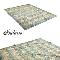 north indian carpet 3d max