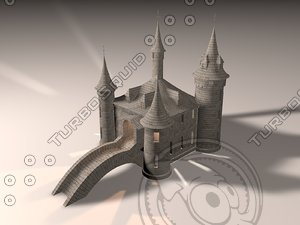castle towers printing 3d model