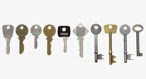 keys house 3ds