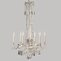 3d model paulina crystal chandelier