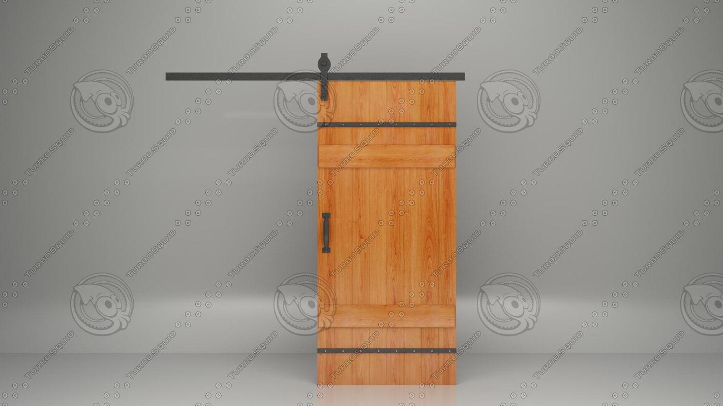 3d max wood door