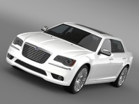 3d model lancia thema 2014 lwb