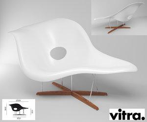 3d chair relax la chaise model