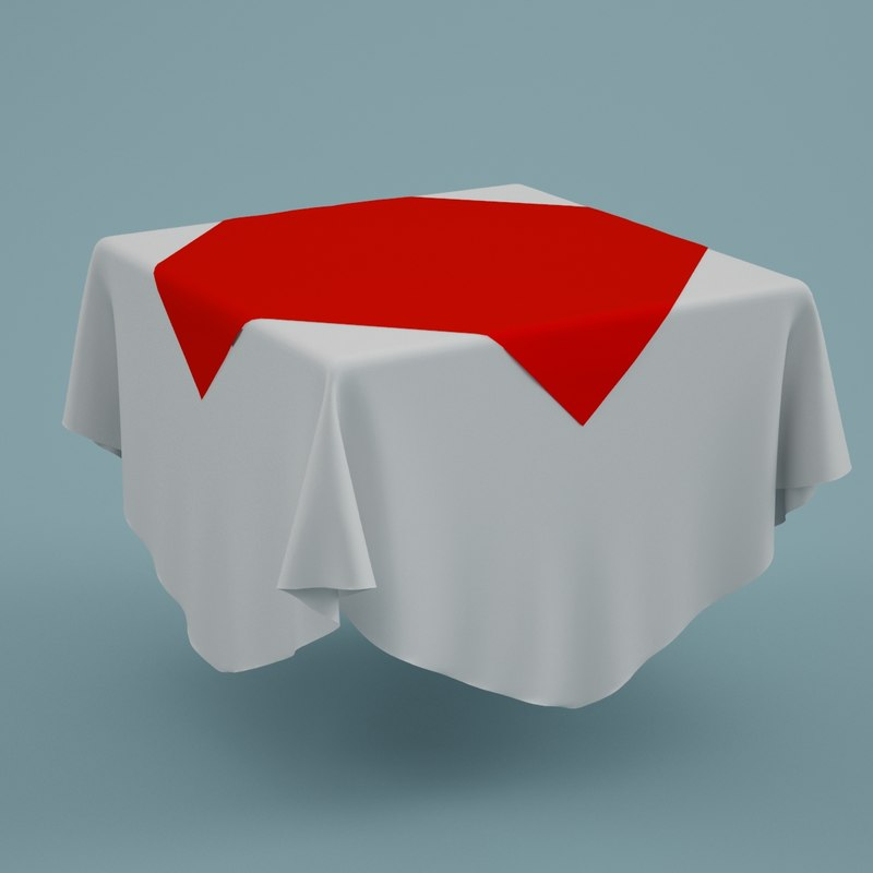 cloth tablecloth table 3ds