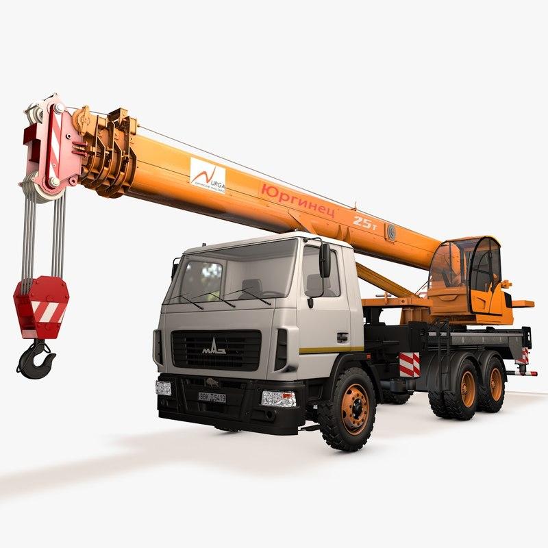 crane maz 3d 3ds