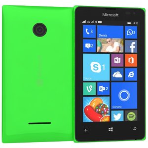 3d microsoft lumia 435 dual model