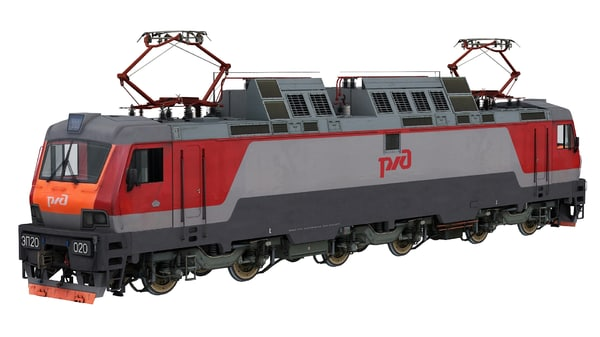 3ds max passenger electric two-system