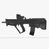 fort-221 assault rifle fbx