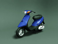 yamaha jog 3d model