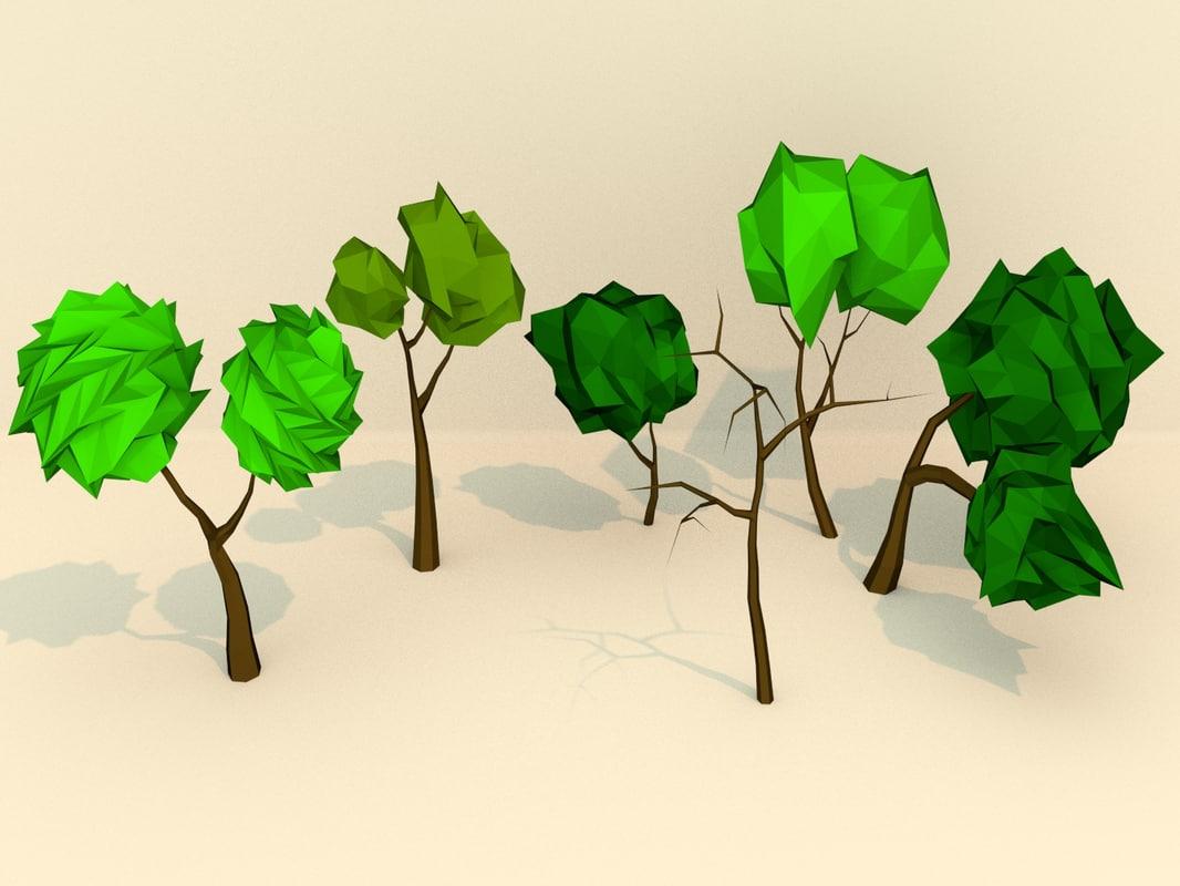 3d 3ds art trees