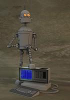 3d old robot