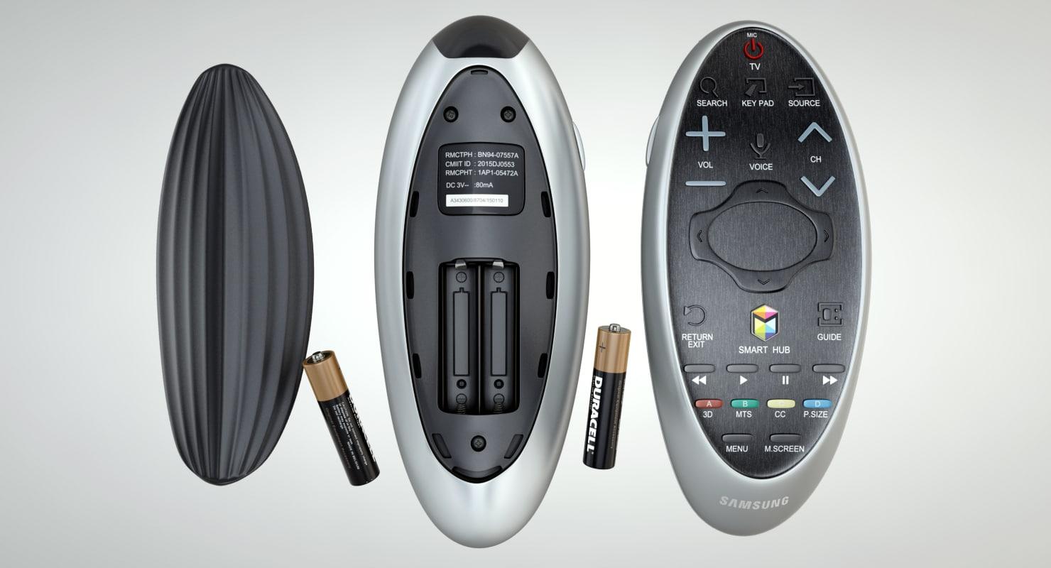 3d model control remote