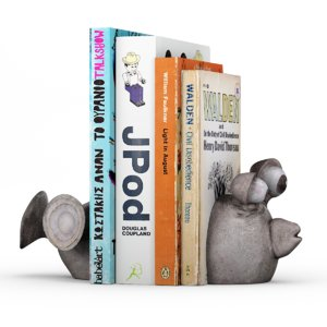balloon fish bookends 3d model