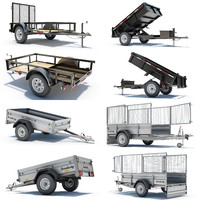 4 Utility Trailers