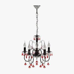 mw-light chandelier 3d model
