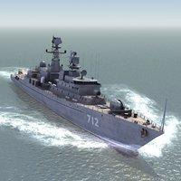 3d neustrashimy frigate