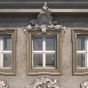 residential house berlin building 3d model