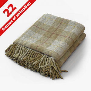 3ds max plaid wool