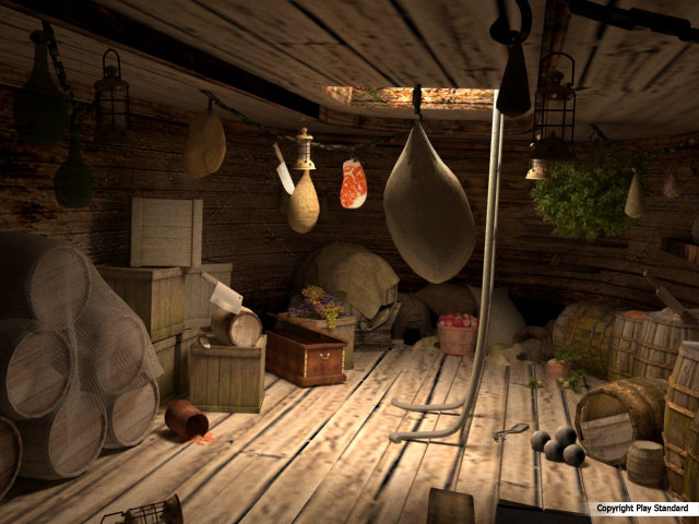 Ship Pantry Cargo 3d 3ds