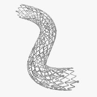 3ds max stent medical