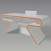 3d model table omega