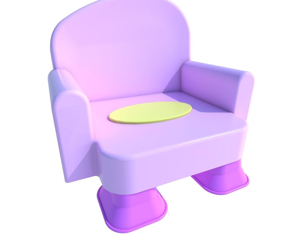 kid seat 3ds